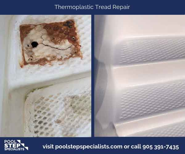 Thermoplastic Tread Repair
