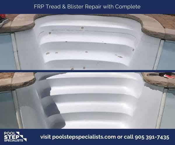 FRP Tread & Blister Repair w Complete