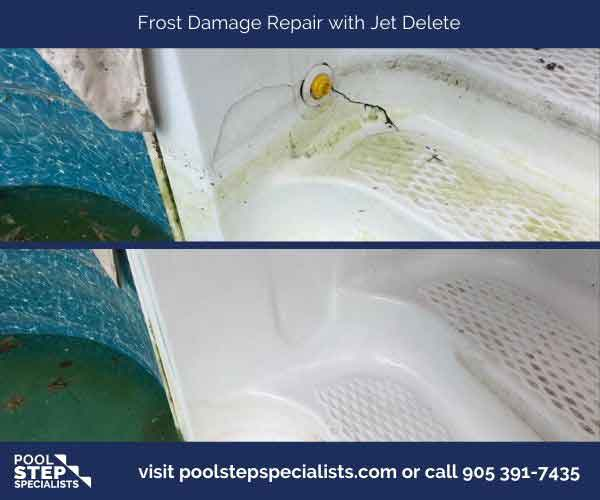 Frost Damage repair with Jet Delete